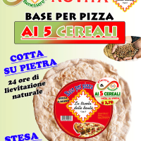 Base pizza ai cereali